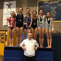 Santa Barbara Gymnastics Spirals Competitive Team