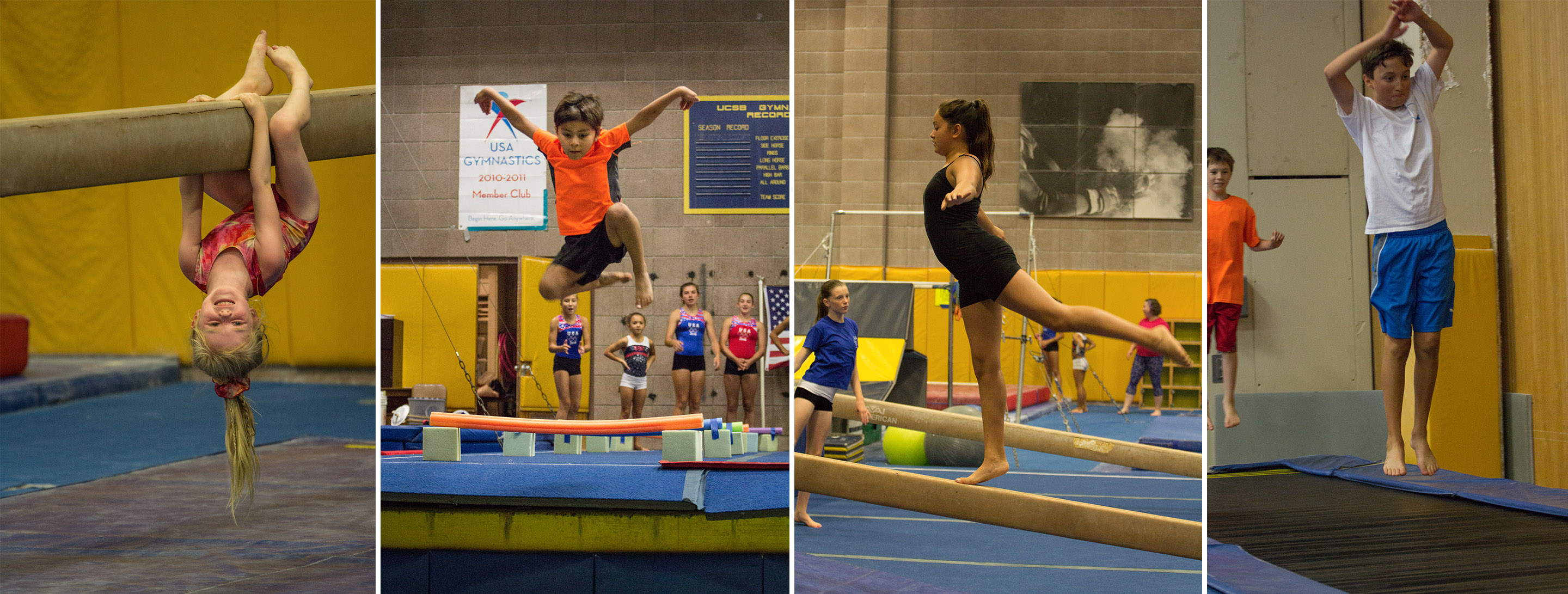 spirals santa barbara gymnastics recreation classes for kids and children